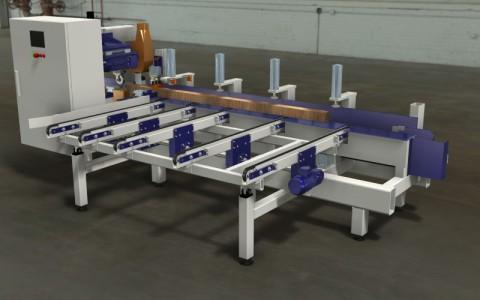 Kantholzfräsmaschine